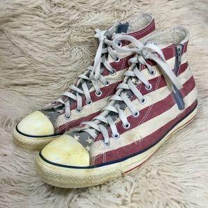 Patriotic American Flag Chuck Taylor All Stars